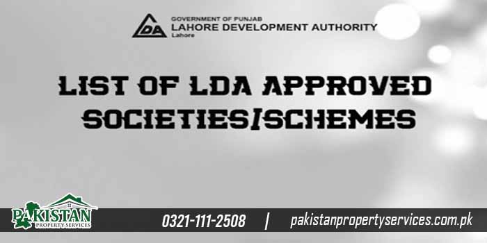 list lda approved housing schemes