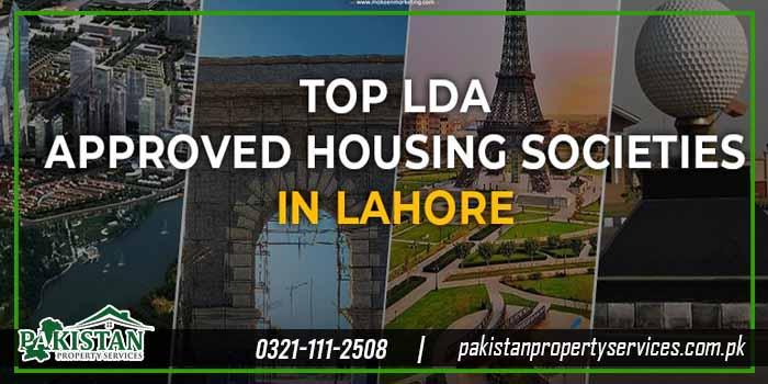 List of LDA Approved Societies in Lahore