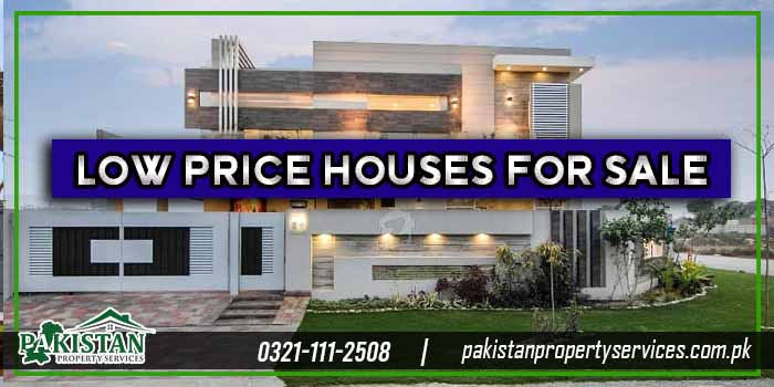 Low Price Houses For Sale in Lahore