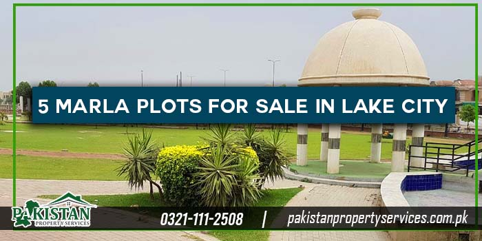 5 Marla Plots for Sale in Lake City