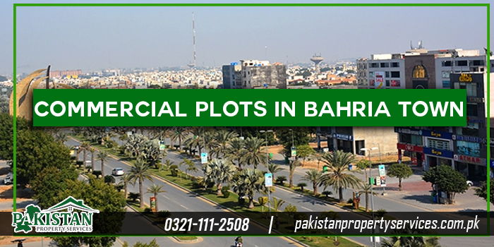 Commercial Plots in Bahria Town Lahore