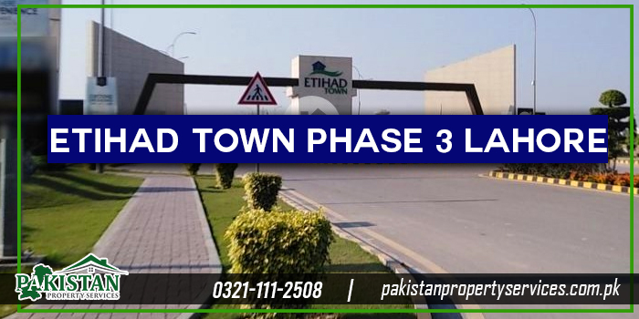 Etihad Town Phase 3 Lahore