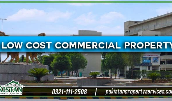 Low Cost Commercial Property in Bahria Town Lahore