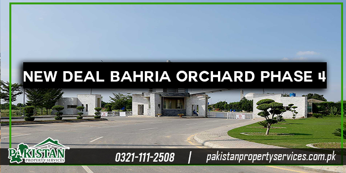 New deal Bahria Orchard Phase 4