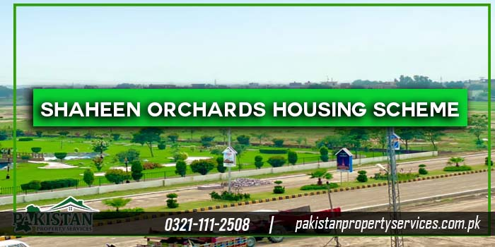 Shaheen Orchards Housing Scheme Sheikhupura