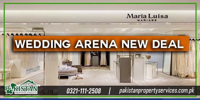Wedding Arena in Orchard Mall Bahria Orchard Lahore