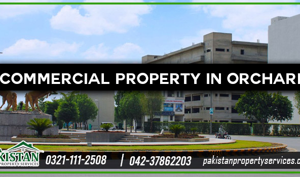 Commercial Property in Bahria Orchard Lahore