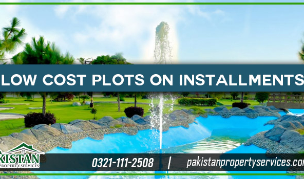 Low Cost Plots on Easy Installments