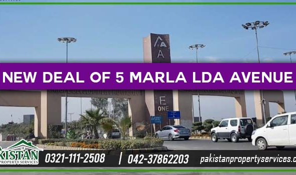 New Deal of 5 Marla Plots for Sale in LDA Avenue 1